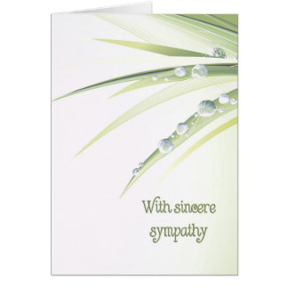 Dew Drops Card