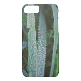 Dew drops in the grass iPhone 8/7 case