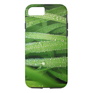 Dew drops on leaves iPhone 7 case