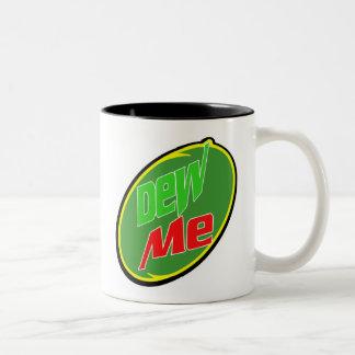 Dew Me Two-Tone Coffee Mug