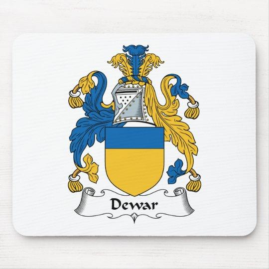 Dewar Family Crest Mouse Pad