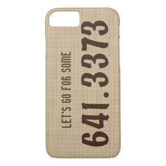 Dewey Decimal Coffee iPhone case