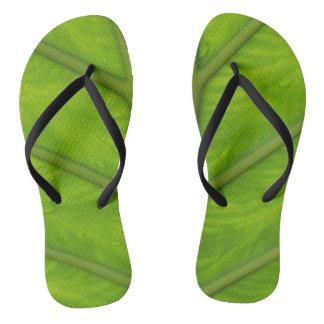 Dewey Leaf Flip Flops
