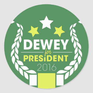 Dewey Stickers