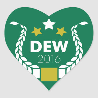 Dewey Stickers - <3