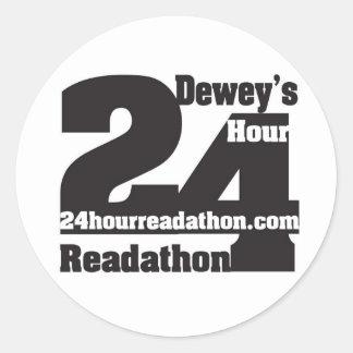 Dewey's Readathon Stickers