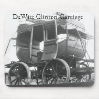 Dewitt Clinton Carriage Train Transportation Mouse Pad