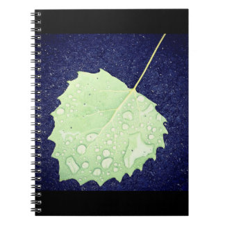Dewy Leaf Notebook