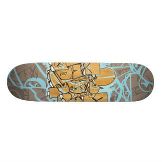 "Dezeinswell ""Fright Club"" Skate Deck"