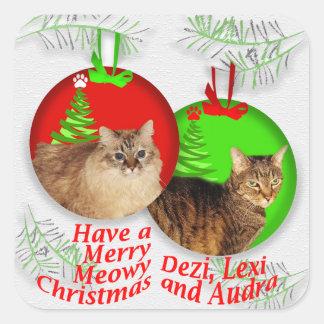 Deziz World Christmas Stickers