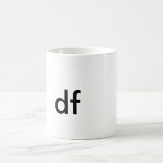 DF!!!! COFFEE MUG