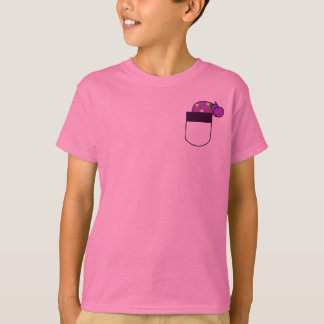 DF- Hippo in a Pocket Shirt