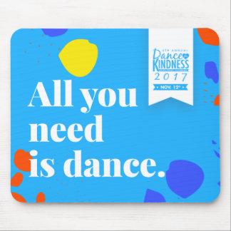 "#DFK2017 ""All You Need is Dances"" Mousepad"