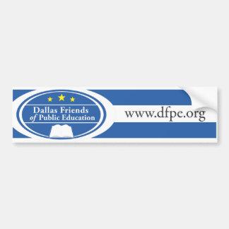 dfpe.org bumper sticker
