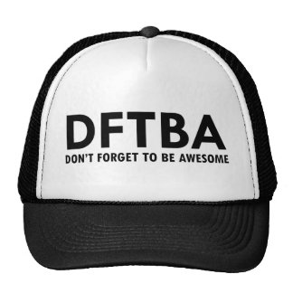 DFTBA TRUCKER HAT