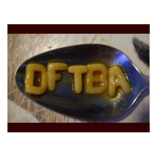 DFTBAlphabet Soup Postcard