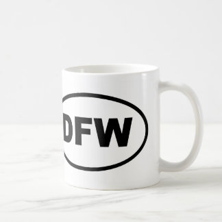 DFW Dallas Fort Worth Coffee Mug
