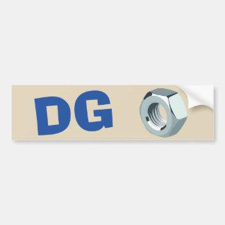 DG Nut sticker