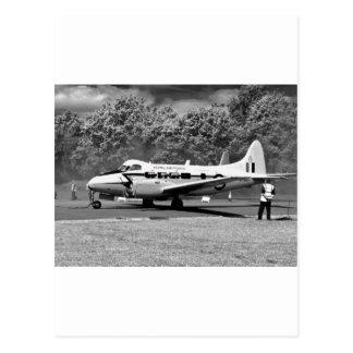DH-104 Devon Postcard