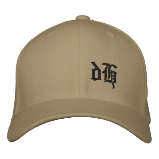 dH Embroidered Hats