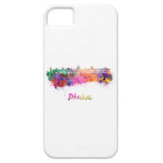 Dhaka skyline in watercolor iPhone 5 case