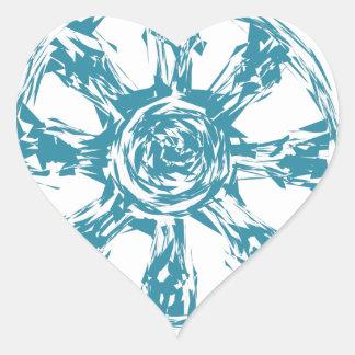 dharma2 heart sticker