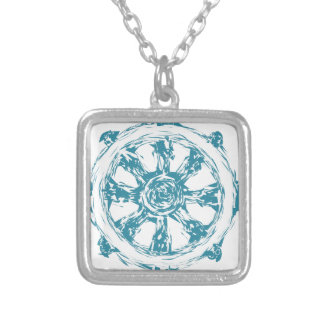 dharma2 silver plated necklace