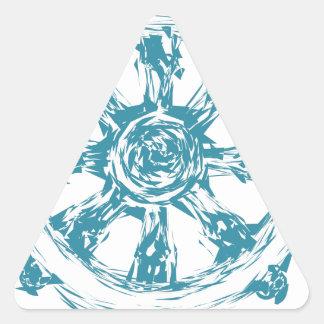 dharma2 triangle sticker