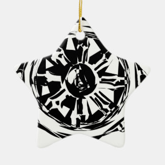 dharma ceramic ornament
