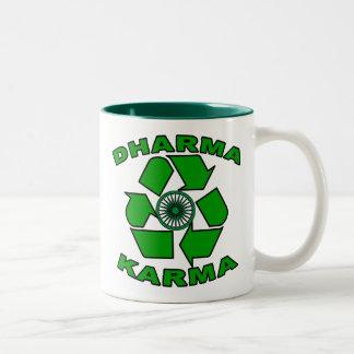 Dharma Karma Eco Design Two-Tone Coffee Mug