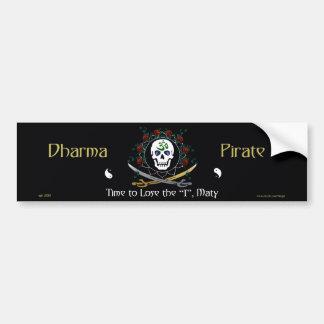 Dharma Pirate 2 Bumper Sticker