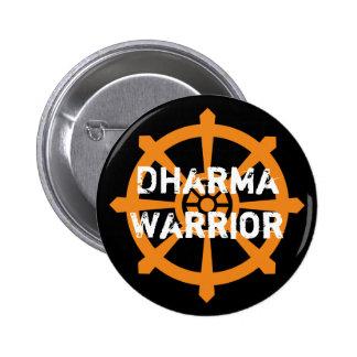 Dharma Warrior 2 Inch Round Button