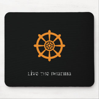 Dharma Wheel Mouse Pad