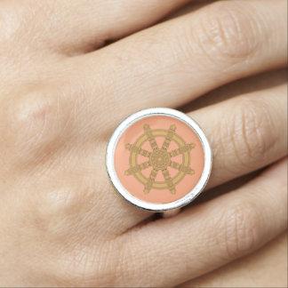Dharma Wheel Rings