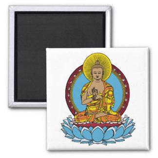 Dharmachakra Buddha Magnet