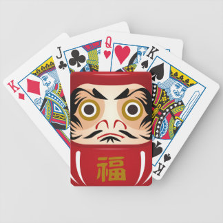 dharuma doll bicycle playing cards