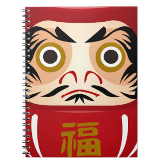 dharuma doll notebook