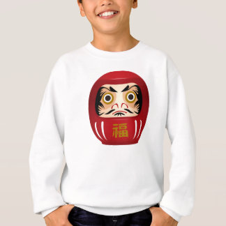dharuma doll sweatshirt