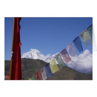 Dhaulagiri Mountain Card