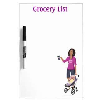 "DHG Dry Erase Board (medium 8"" x 5"")"