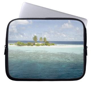 Dhiggiri Island, South Ari Atoll, The Maldives, Laptop Computer Sleeve