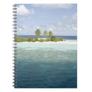 Dhiggiri Island, South Ari Atoll, The Maldives, Note Book