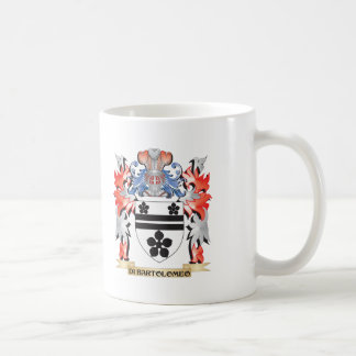 Di-Bartolomeo Coat of Arms - Family Crest Coffee Mug