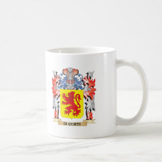 Di-Curti Coat of Arms - Family Crest Coffee Mug