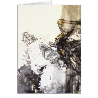 Di Guan Earth Abstract Art Card
