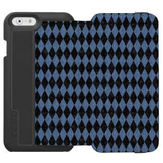 DIA1 BK-MRBL BL-DENM INCIPIO WATSON™ iPhone 6 WALLET CASE