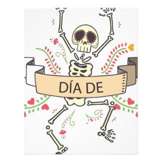 DIA DE Festival of the Dead Letterhead