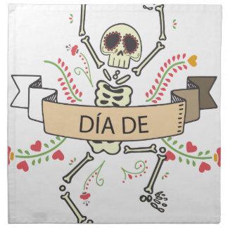 DIA DE Festival of the Dead Napkin