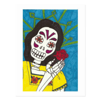 Dia de la Rosa Postcard
