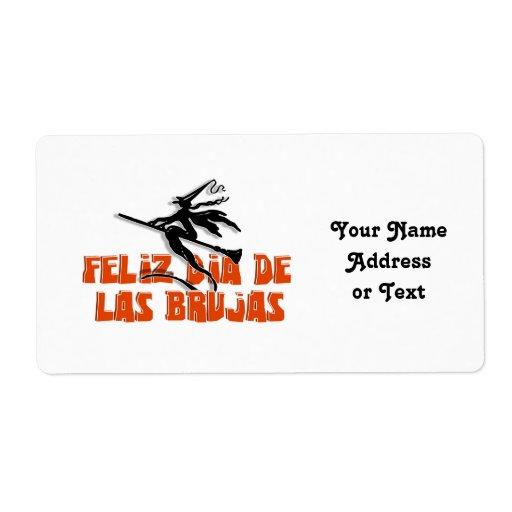 Dia de Las Brujas Étiquette D'expédition